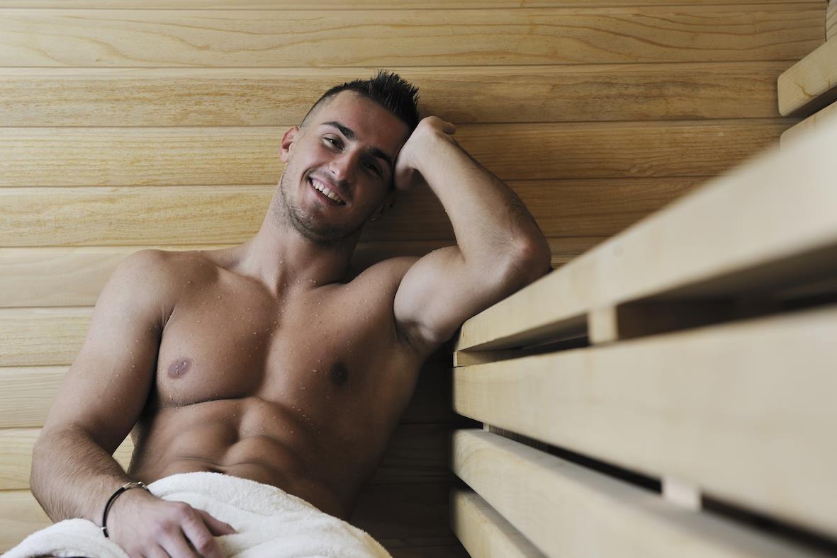 Gay Resort Hotel Club torso Gran Canaria sauna zitplek