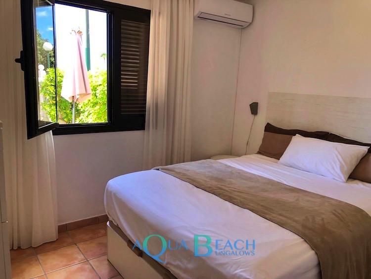 Aqua Beach Bungalows Gran Canaria Santa Barbaras slaapkamer