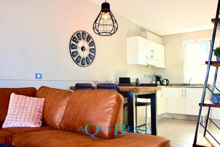 Aqua Beach Bungalows Gran Canaria suite superior keuken