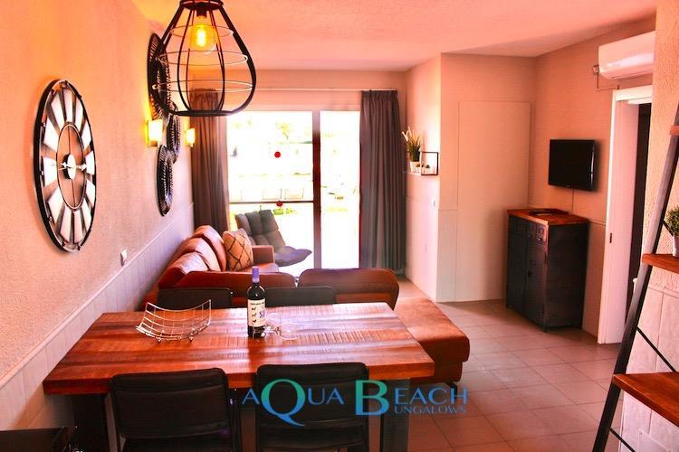 Aqua Beach Bungalows Gran Canaria suite superior overzicht