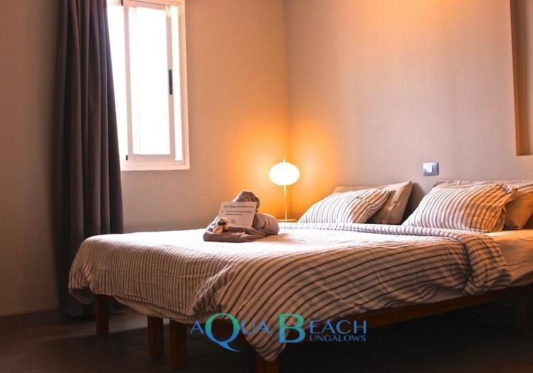 Aqua Beach Bungalows Gran Canaria suite superior slaapkamer