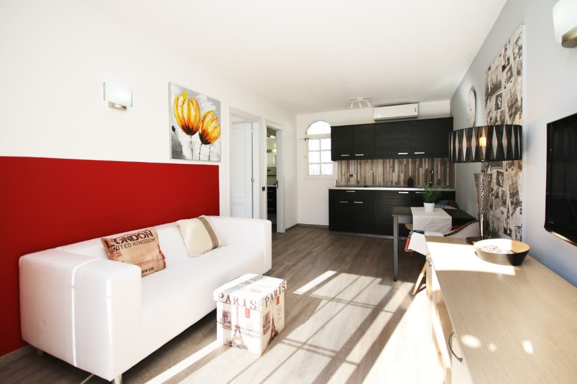 Gay Resort Hotel Club torso Gran Canaria bungalow overzicht kamer