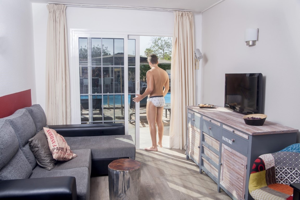 Gay Resort Hotel Club torso Gran Canaria pure comfort uitzicht