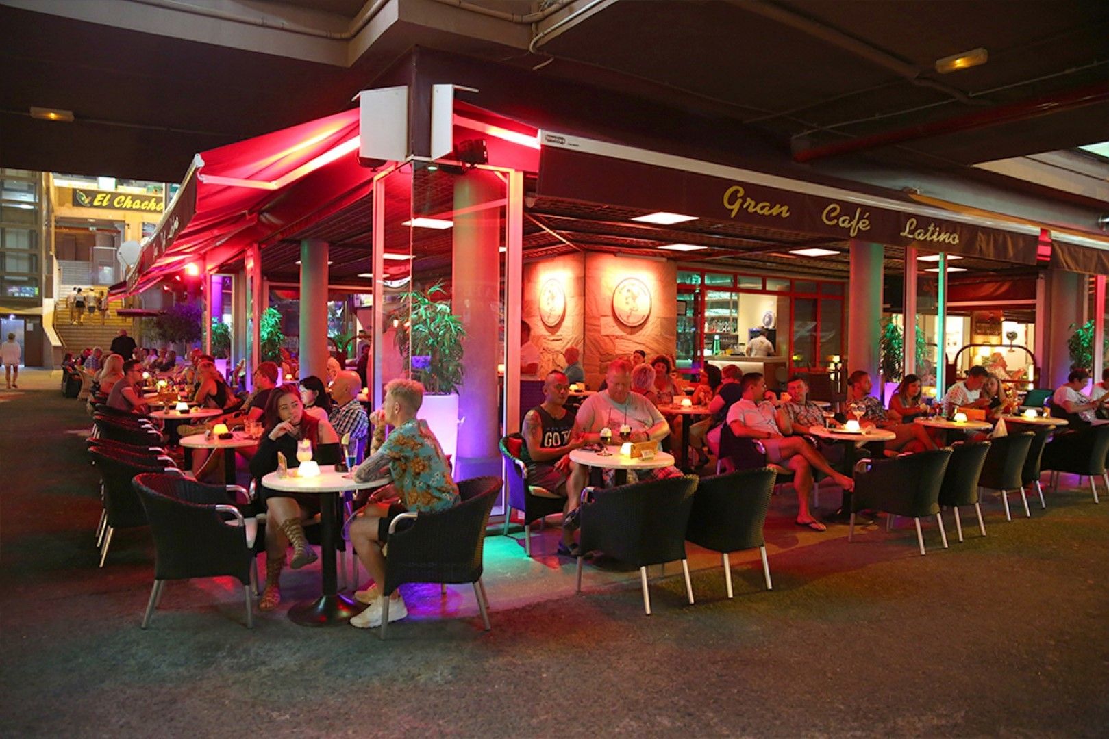Gay Resort Hotel Club torso Gran Canaria Yumbo Grand cafe