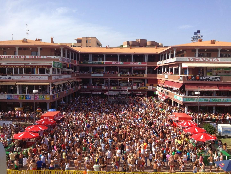 Gay Resort Hotel Club torso Gran Canaria Yumbo Center overzicht