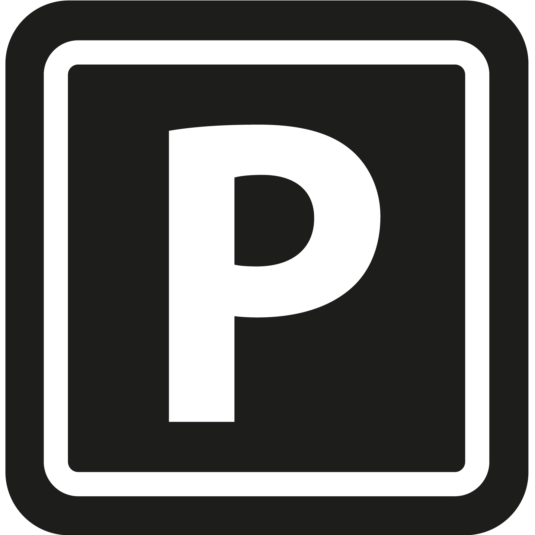 Private parking (€20/night)