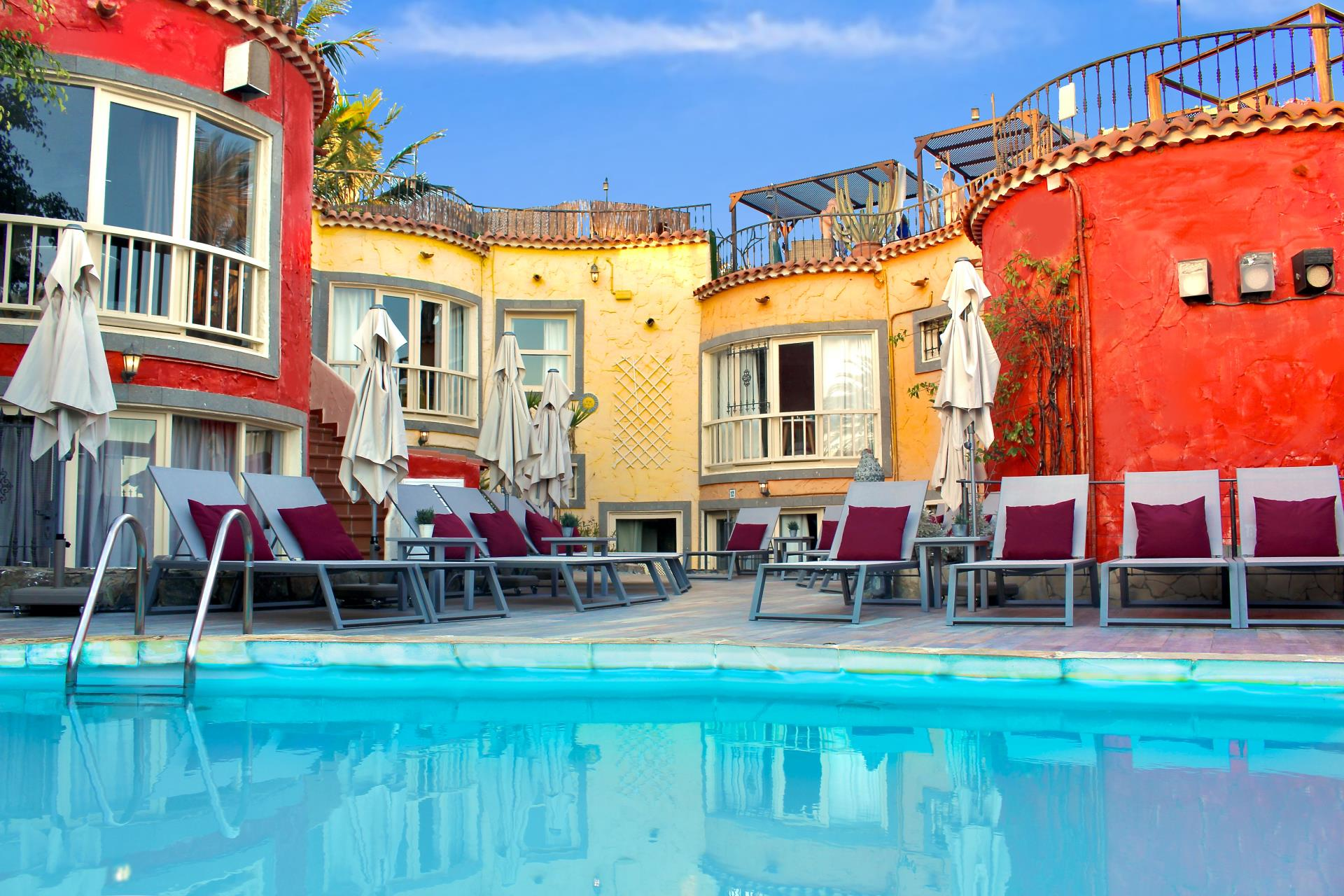 Petit Hotel Natura Gran Canaria zwembad buitenplaats
