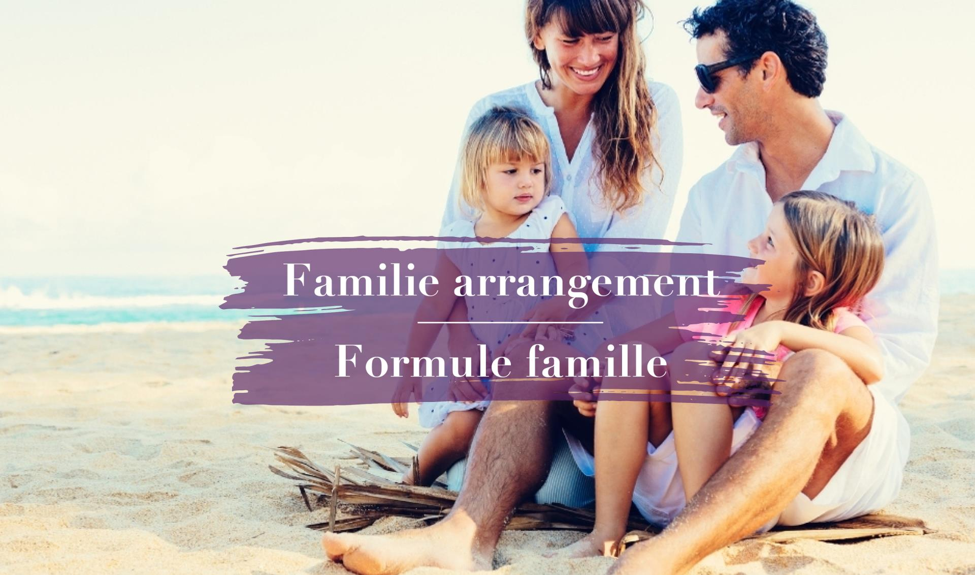 Familie arrangement
