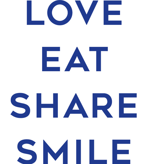 LOVE EAT SHARE SMILE
