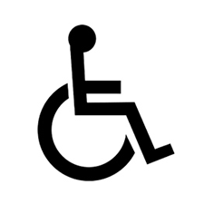 Wheelchair-friendly rooms