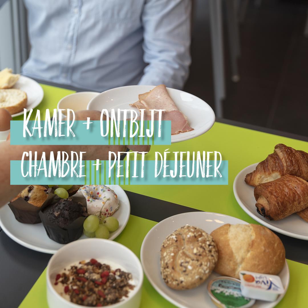 Kamer + ontbijt
