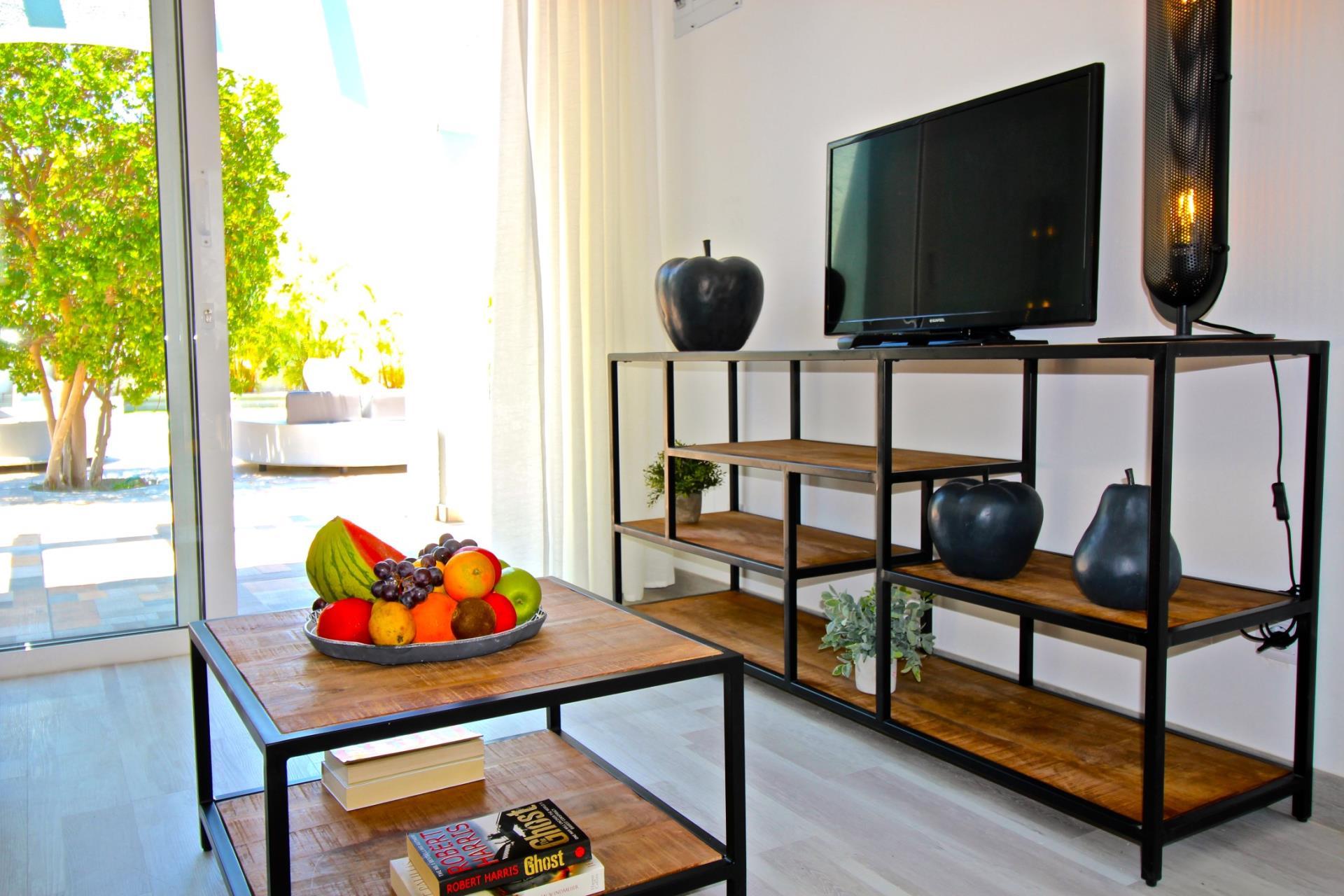 Naturisten Hotel Artika Natura Zitplek met televisie