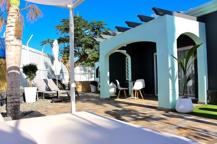 Naturisten Hotel Artika Natura Gran Canaria terras
