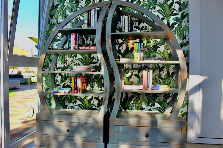 Naturisten Hotel Artika Natura Gran Canaria boekenkast