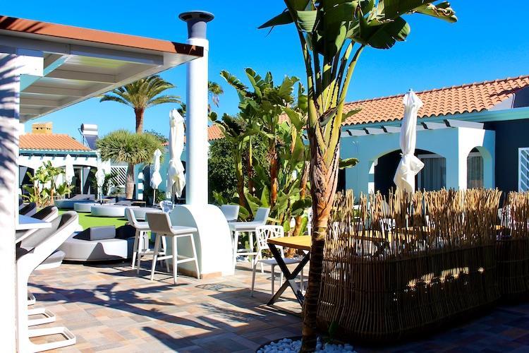 Naturisten Hotel Artika Natura Gran Canaria overzicht ligweide