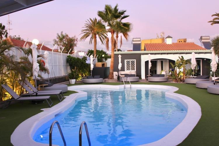 Naturisten Hotel Artika Natura Gran Canaria zwembad
