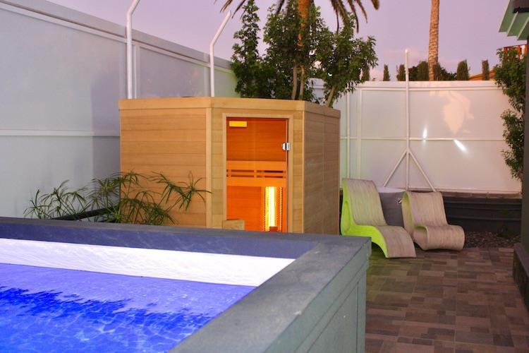 Naturisten Hotel Artika Natura Gran Canaria jacuzzi en sauna