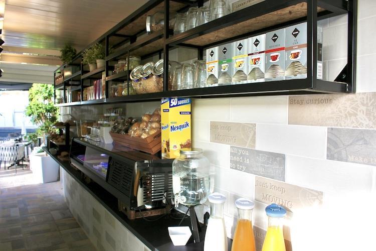 Naturisten Hotel Artika Natura Maspalomas Gran Canaria ontbijtbar