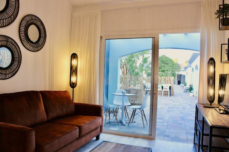 Naturisten Hotel Artika Natura Gran Canaria Suite uitzicht