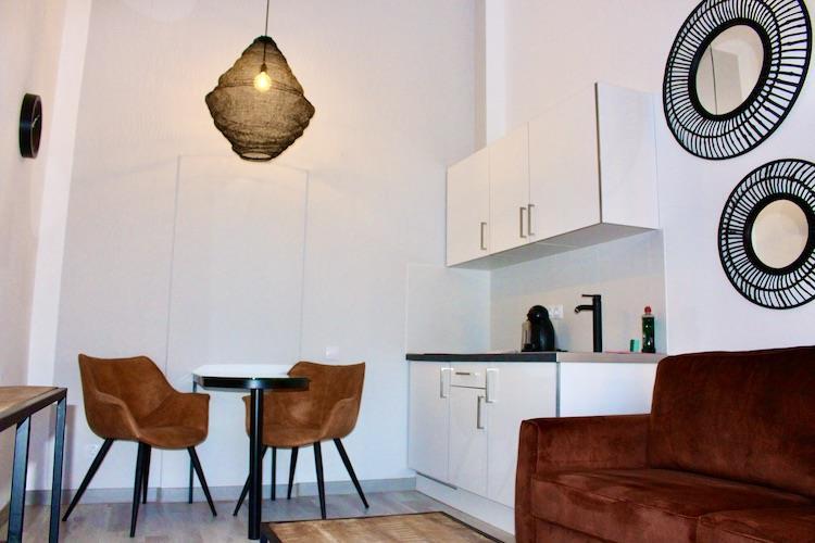 Naturisten Hotel Artika Natura Suite overzicht Keuken