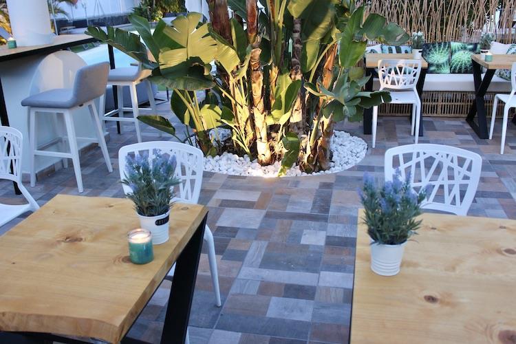 Zitplek bar Naturisten Hotel Artika Natura Gran Canaria