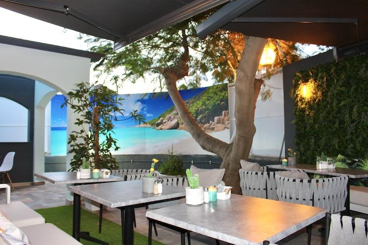 Naturisten Hotel Artika Natura lounche zitplek Gran Canaria