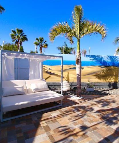 Naturisten Hotel Artika Natura Gran Canaria ligbed